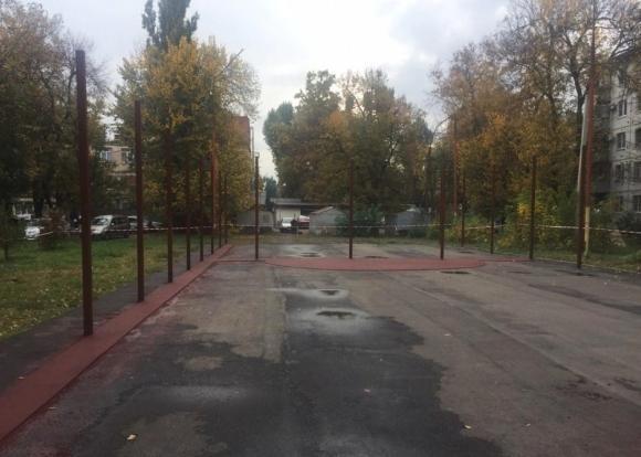 В Краснодаре в ноябре откроют многофункциональную спортплощадку