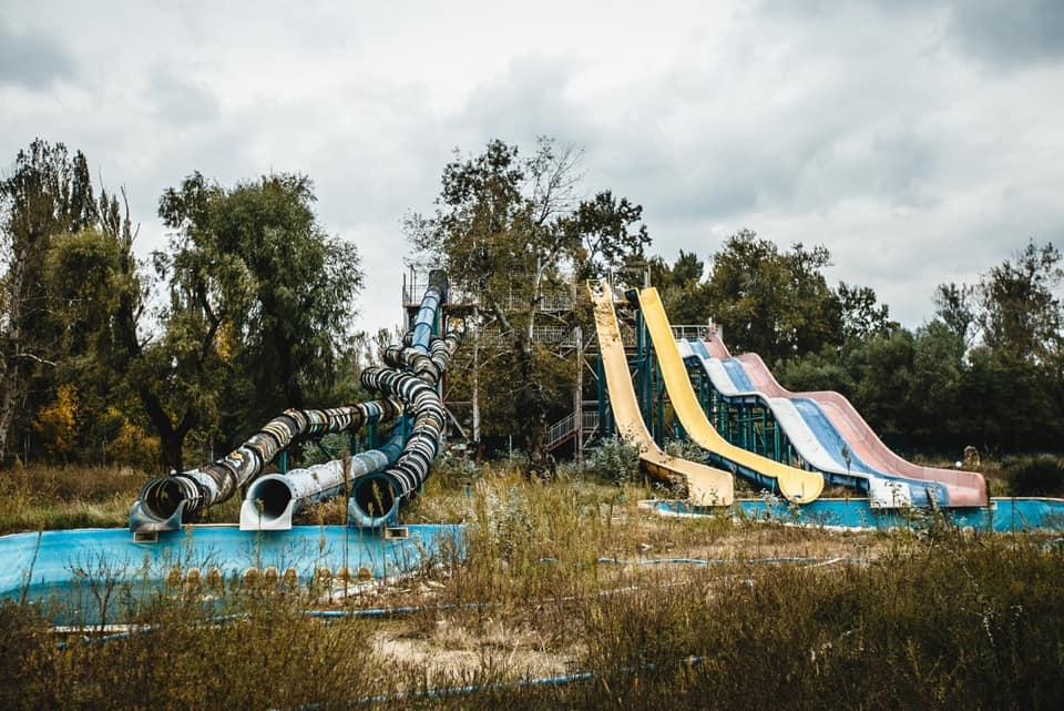 В Краснодаре реконструируют аквапарк в районе «Олимпа»