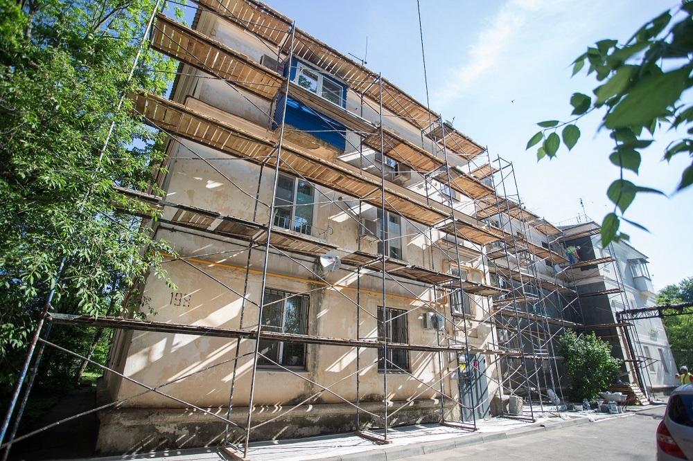 В Краснодаре стартовал ремонт фасадов 45 многоквартирных домов