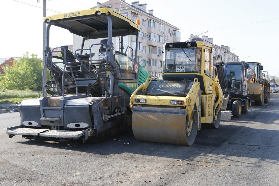 Новую дорогу по ул. Восточно-Кругликовской в Краснодаре сдадут к середине лета