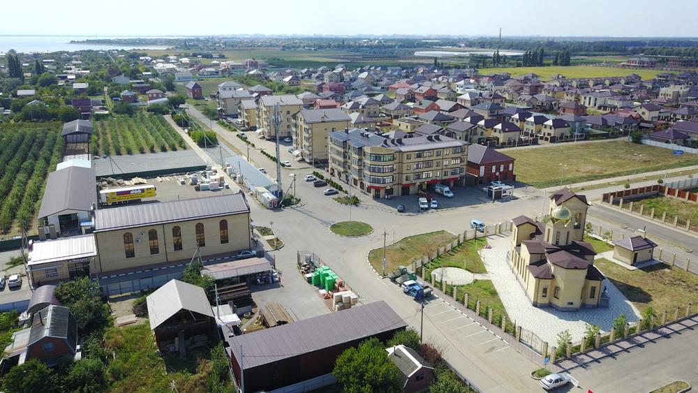 Коттеджный поселок «Виктория» с высоты птичьего полета