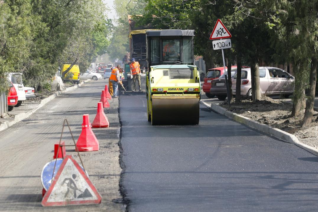 Начался большой ремонт дорог. Сезон 2018