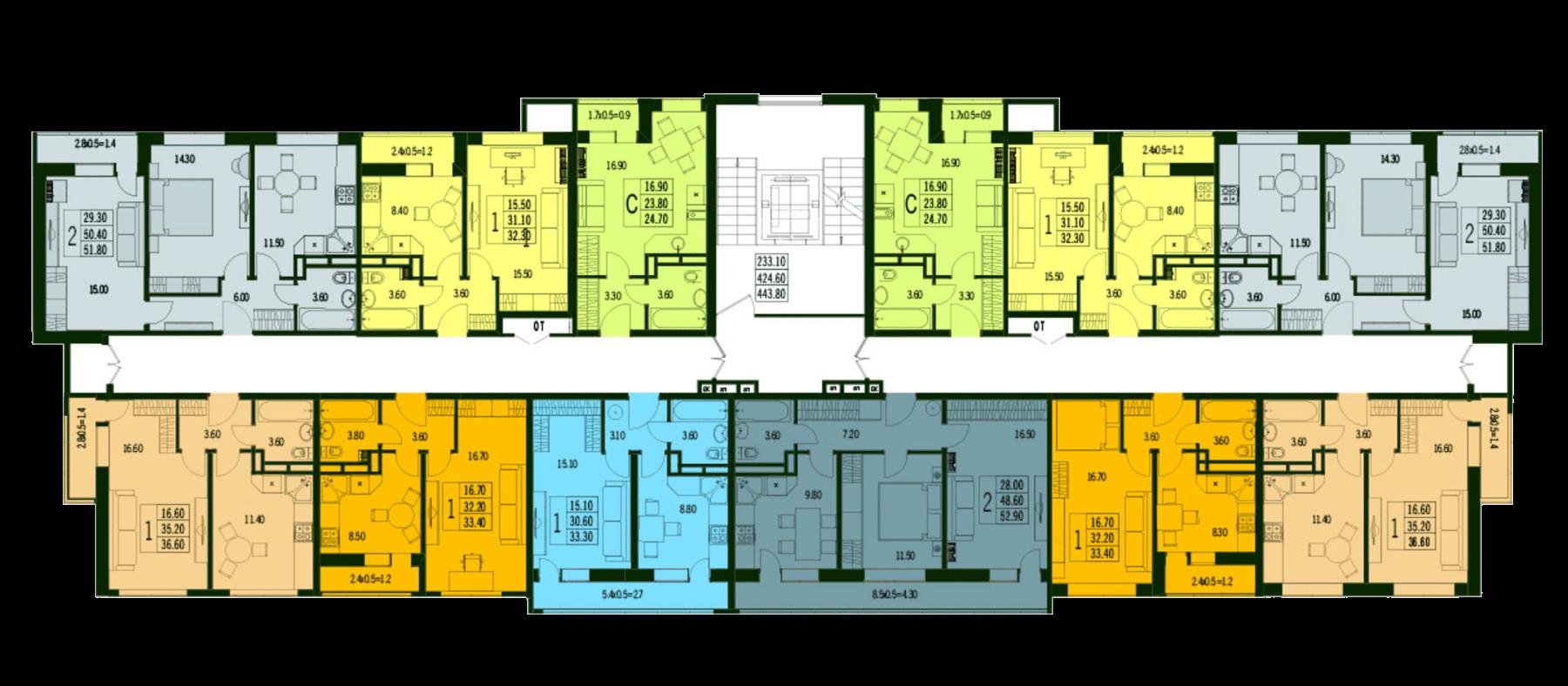 Расположение жилого комплекса «Марсель»