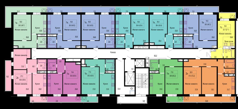 Расположение жилого комплекса «Мелодия»