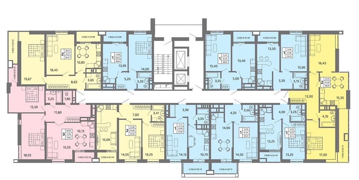 Расположение жилого комплекса «На Садовой»