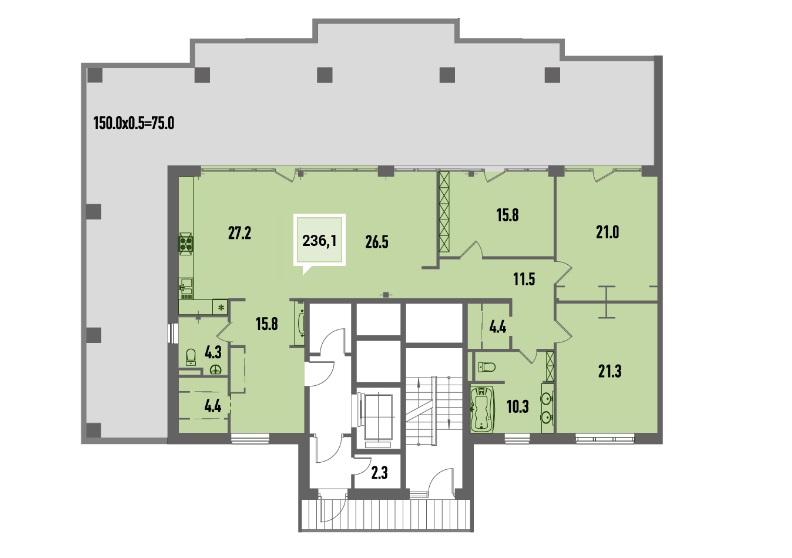 Удобные условия покупки квартиры по ипотеке в жилом комплексе «Тургенев»