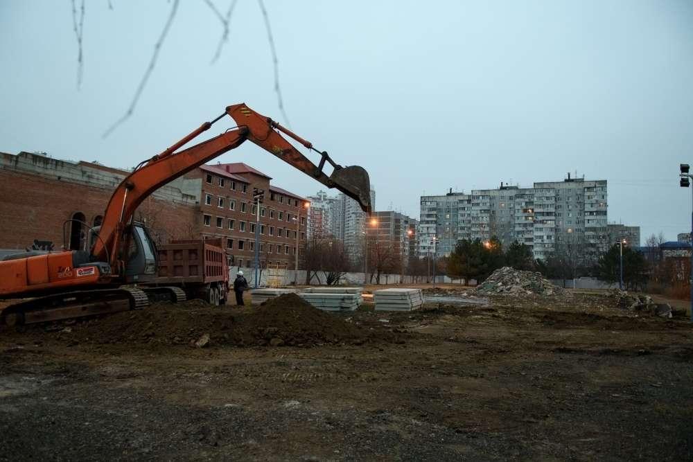 В Краснодаре начали строить корпус на 300 мест гимназии № 87