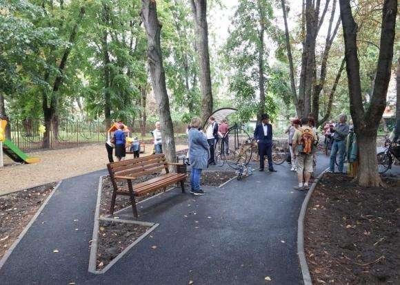 В Краснодаре на улице Володарского открыли сквер «Сад Тротнера»