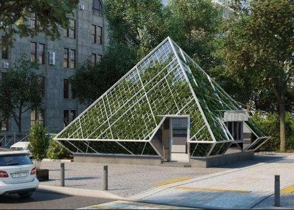 Пирамиду в центре Краснодара превратят в клумбу