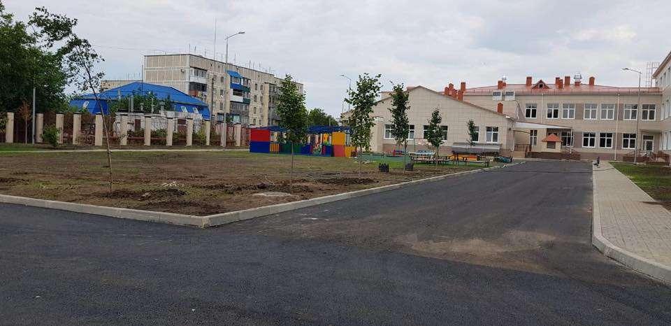 В хуторе Ленина построили новую школу