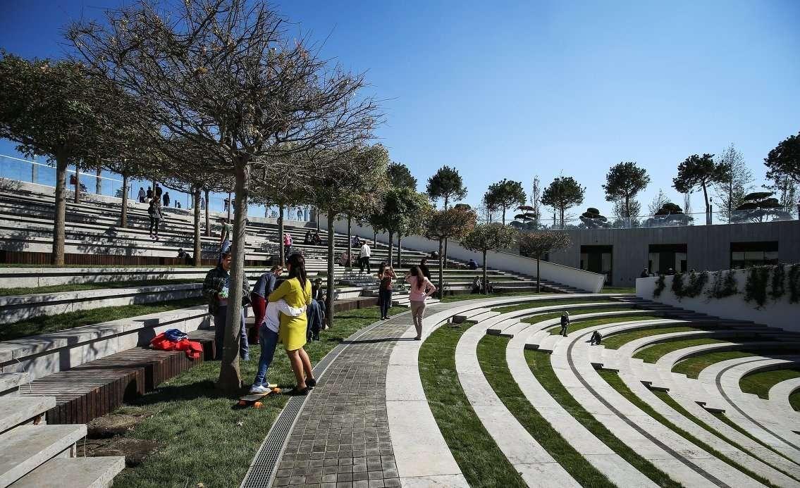 Строительство парка началось в сентябре прошлого года