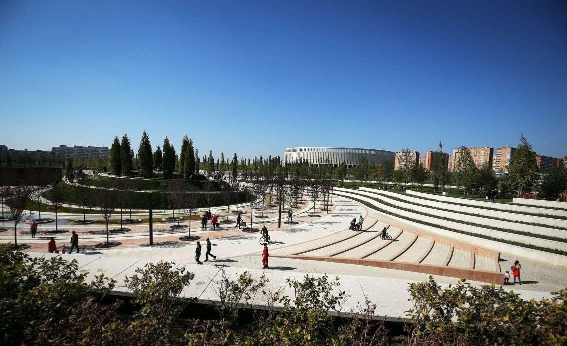 Новый парк отдыха в Краснодаре открыл двери посетителям