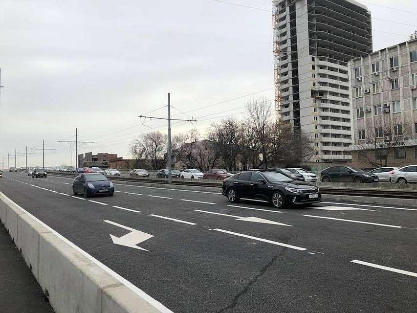 Садовый мост в Краснодаре открыли для движения