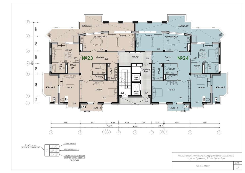 Буденного, 182 12 этаж
