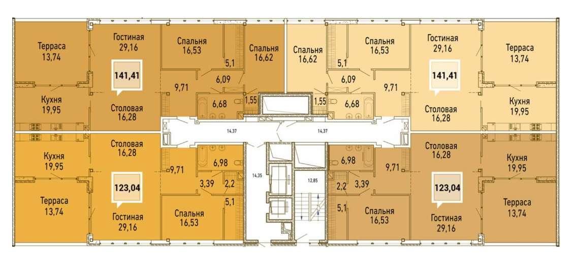 Купить квартиру в жк элетан