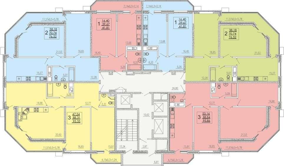 Расположение жилого комплекса «На высоте»
