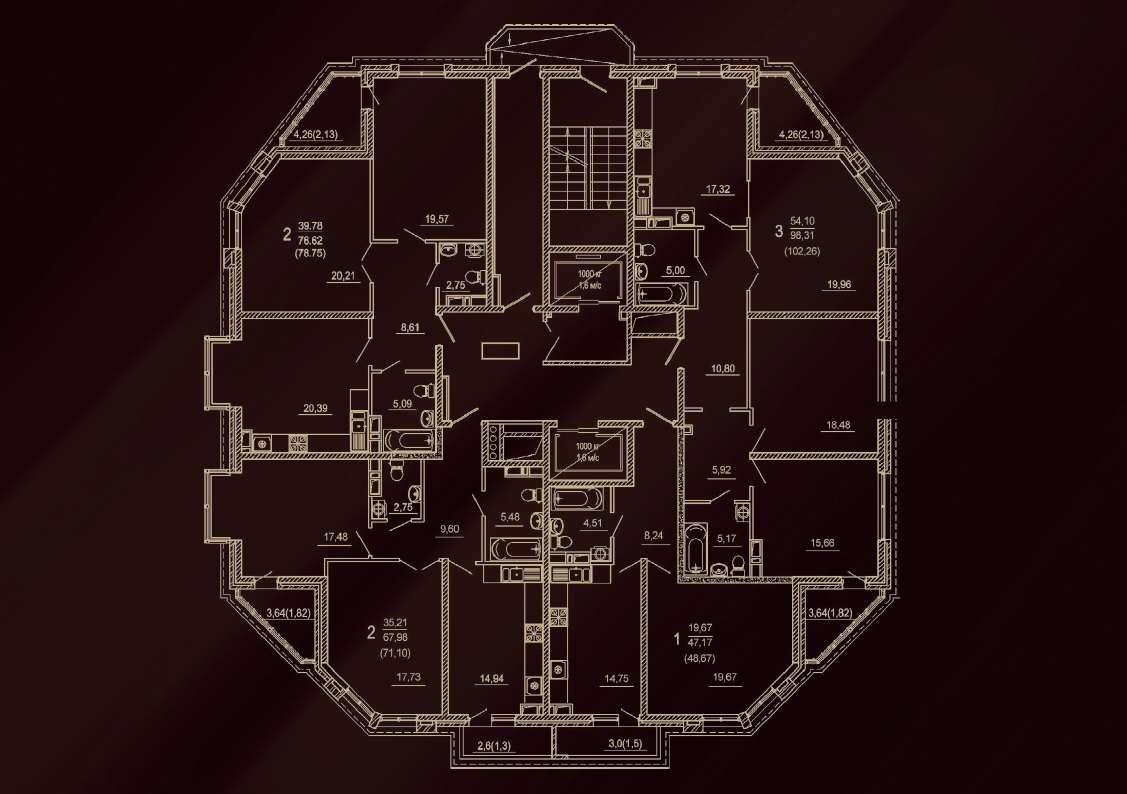 Планировочные решения комплекса «Петр I»