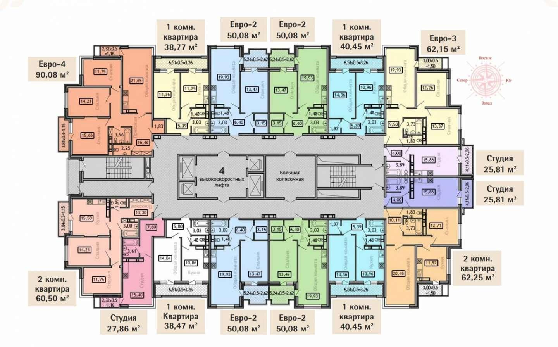 Планировочные решения комплекса «Дом Романовых»