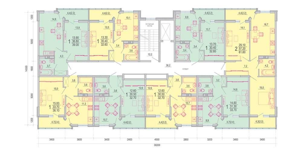 Расположение жилого комплекса «Южане»