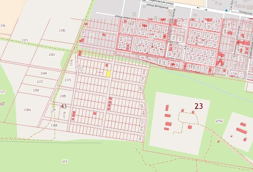 Расположение поселка