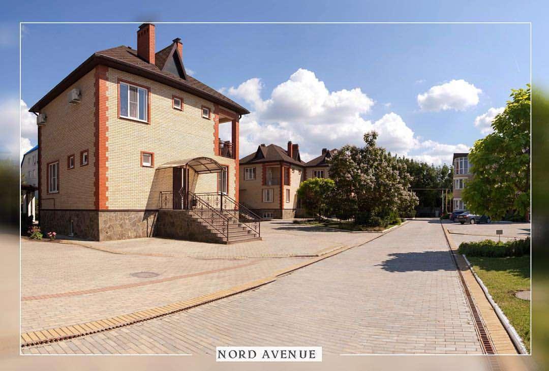 Типы домов в коттеджном поселке Nord Avenue