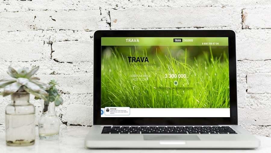 Перейти на сайт коттеджного поселка «Трава»